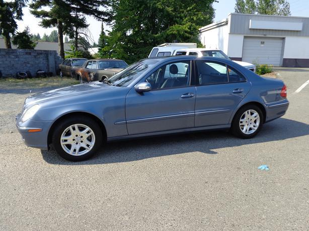 2003 mercedes benz e320 central nanaimo parksville for Mercedes benz nanaimo