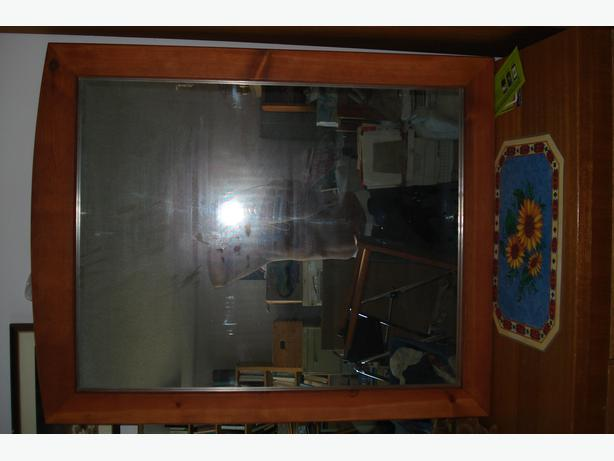 Solid Wood,  Framed Mirror.  Brand New, Never used.