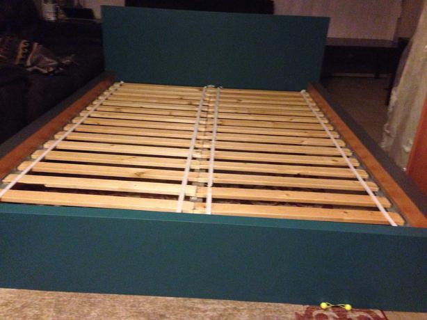 ikea malm bed frame with ikea mattress - Ikea Sultan Bed Frame
