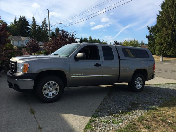 2007 gmc sierra 1500 ext cab short box pick up outside comox valley comox valley. Black Bedroom Furniture Sets. Home Design Ideas