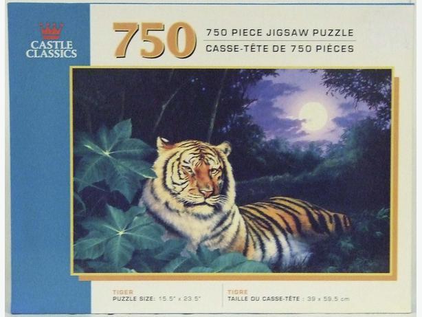 750 Piece Puzzle #2155C Tiger