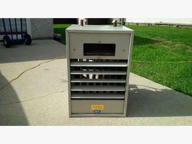 Natural gas unit heater transcona north kildonan winnipeg for Natural gas heating options