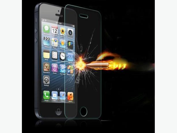 Premium Real Tempered Glass Screen Protector for iPhone 5 5S