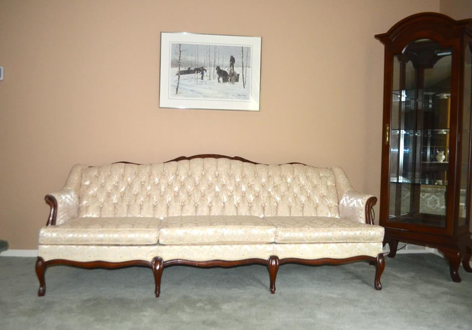 Beautiful French Provincial Couch And Chair East Regina, Regina