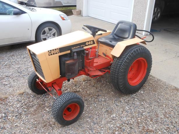 case 446 compact garden tractor sold rural regina  regina
