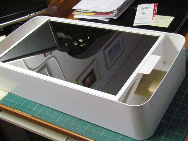 bathroom cabinet from ikea white metal with glass mirror which just