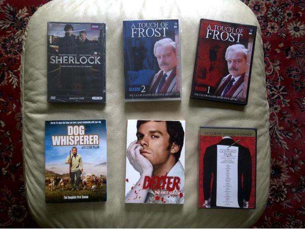 Detective, Dexter and Dog Whisperer DVDs