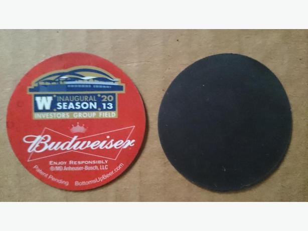 Budweiser/Winnipeg Blue Bombers magnet