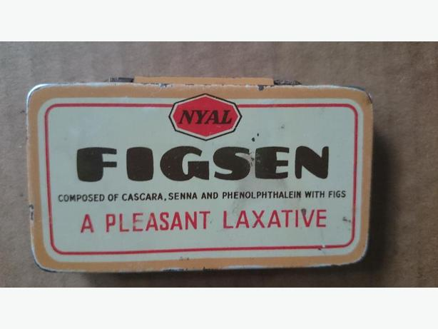 Figsen laxative tin