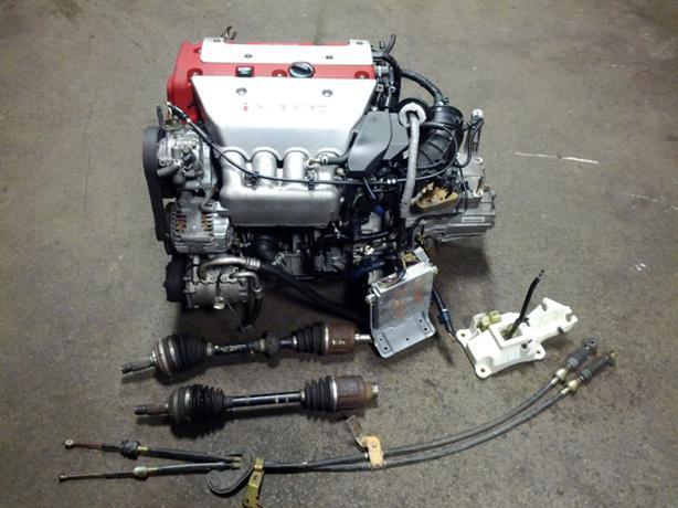 Jdm K20a Itr Acura Dc5 Type R Engine Lsd 6 Speed