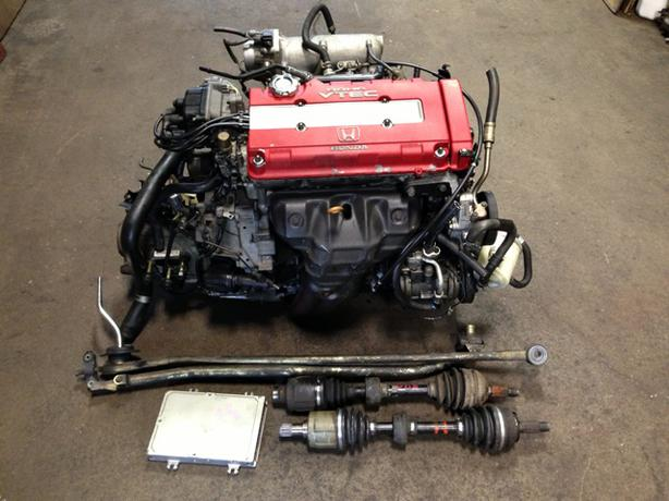 jdm honda b18c type r 96 engine lsd mt transmission installation available outside montreal