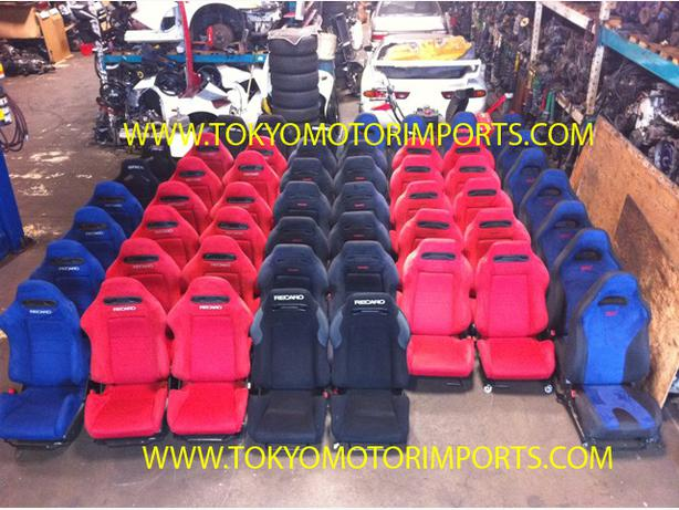Jdm Seats Recaro Dc2 Dc5 Red Black Blue Sti Seats Bride