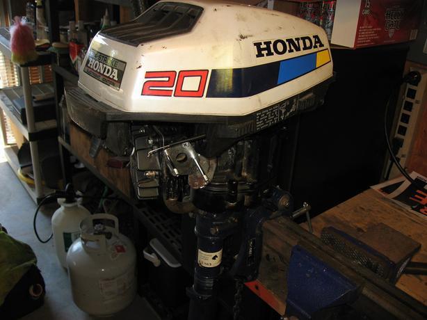 Honda 4 stroke 2hp outboard motor other cowichan valley for Honda 4 stroke outboard motors