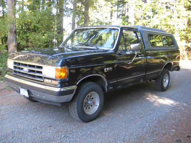 89 ford f150 4x4 pickup with low low kilometers parksville nanaimo. Black Bedroom Furniture Sets. Home Design Ideas
