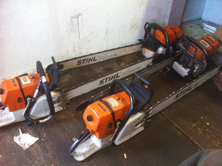 Wanted stihl and husqvarna chainsaws outside cowichan valley cowichan mobile - Comparatif debroussailleuse stihl husqvarna ...