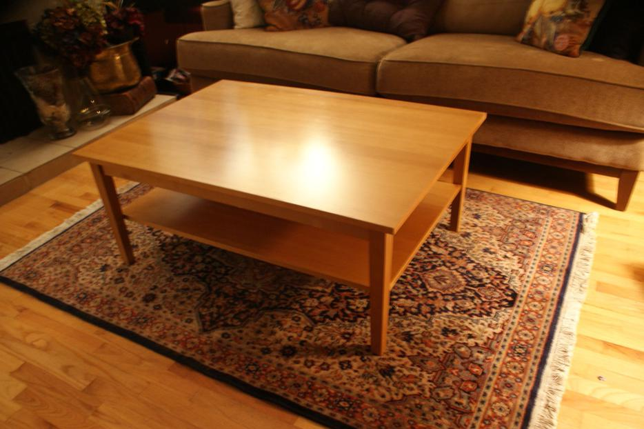 Coffee table with shelf saanich victoria for Coffee tables kelowna