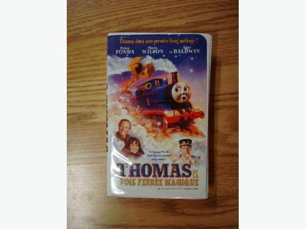 Like New Thomas and the Magic Railroad VHS Movie English + French! $1 each