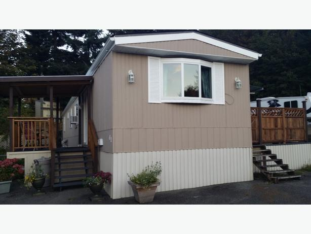 14 X 70 Mobile Home With Addition Campbell River
