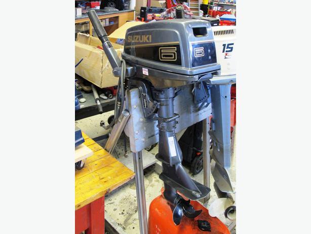 Suzuki Dt6 6hp Outboard Motor 191223 1 Victoria City