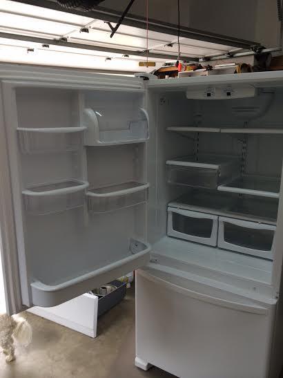 on Kenmore Refrigerator Model