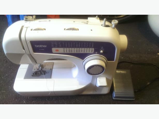 Brother xl 2600 sewing machine victoria city victoria for Machine a coudre xl 2600 brother
