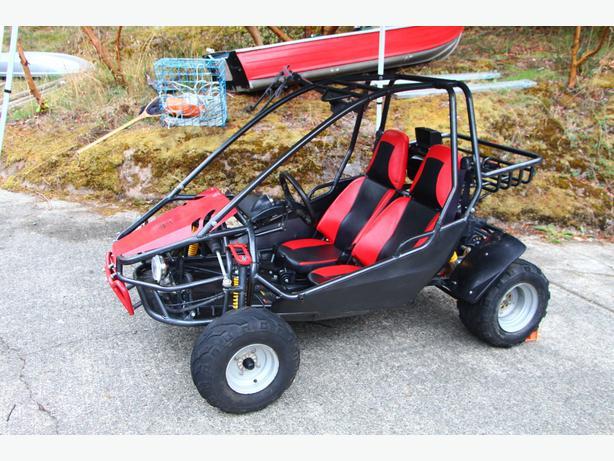 Quantum 150cc go kart west shore langford colwood for Go kart montreal exterieur