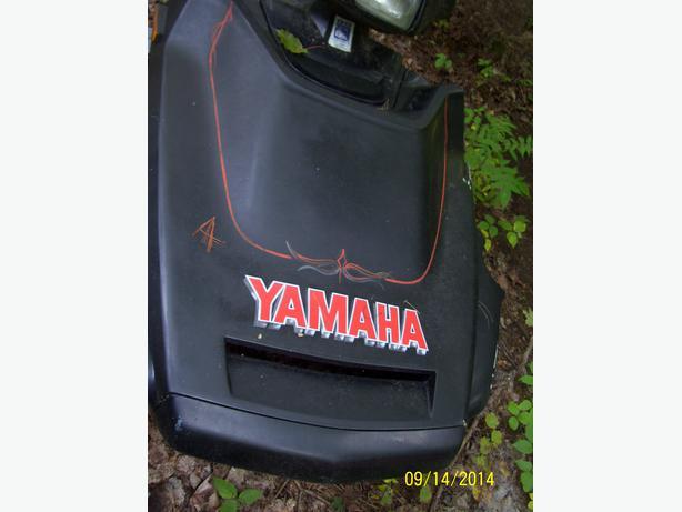 Yamaha Exciter hood cab shroud