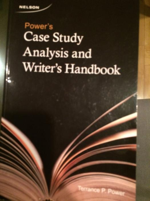 powers case study analysis and writers handbook A handbook of statistical analyses using r  this book is intended as a guide to data analysis with the r system for sta-  a bioinformatics case study,.
