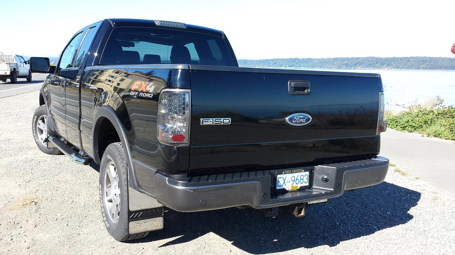 2004 ford f150 fx4 outside comox valley courtenay comox mobile. Black Bedroom Furniture Sets. Home Design Ideas
