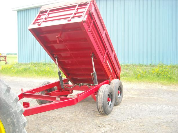 Used Tires Oshawa >> Normand farm dump trailer Cumberland, Ottawa
