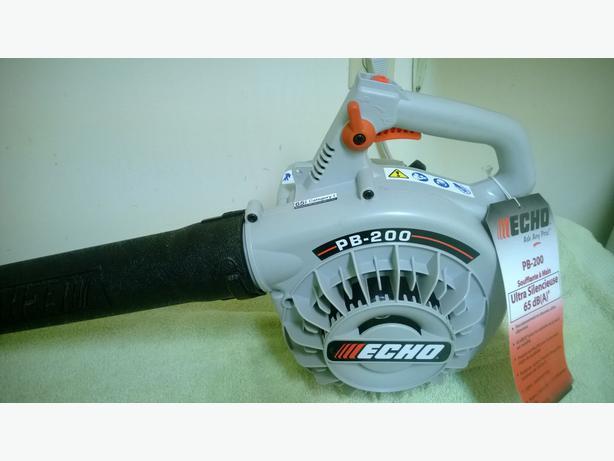 Echo Power Blower Pb 200 : Echo pb ultra quiet handheld blower saanich victoria