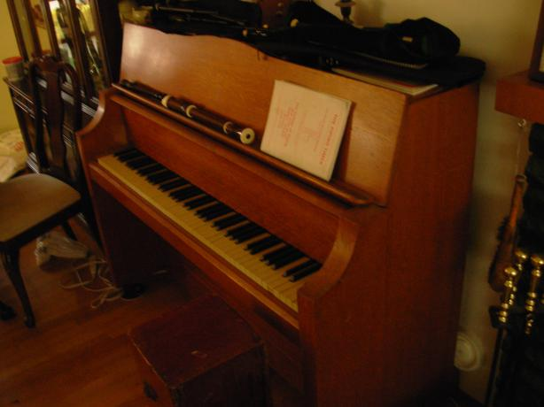 Bentley Upright Compact Piano Saanich Victoria