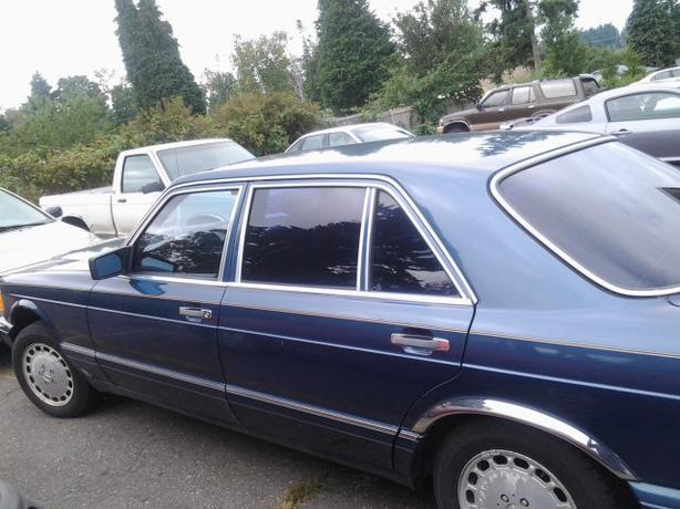 1986 mercedes benz 420 sel collector campbell river comox for 1986 mercedes benz 420 sel