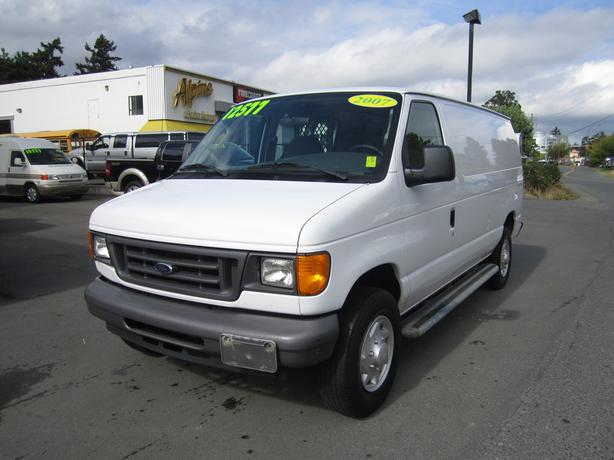 2007 ford e250 cargo van west shore langford colwood. Black Bedroom Furniture Sets. Home Design Ideas