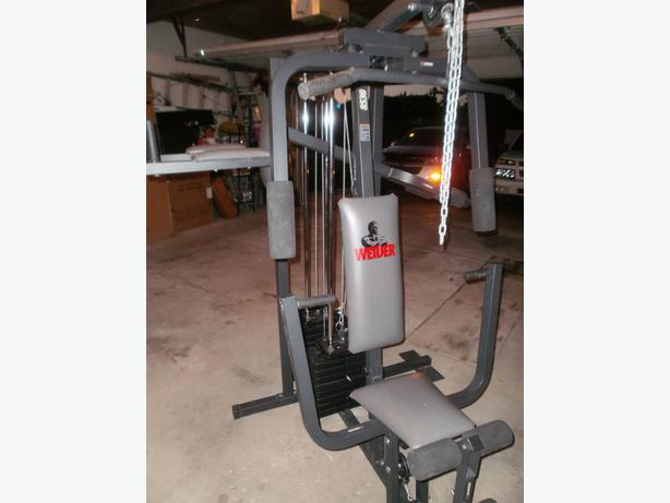 weider home gym used