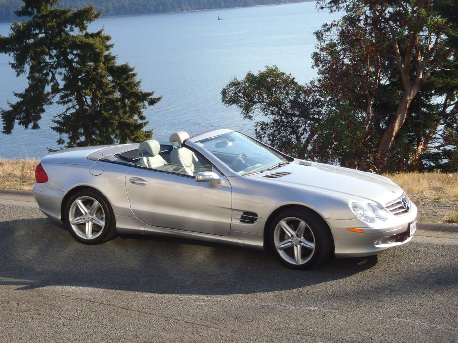 2005 mercedes benz sl500 malahat including shawnigan lake for Mercedes benz bay ridge