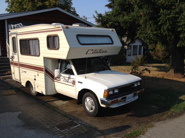 1984 Nissan Citation Motor Home Newly Reno D Saanich