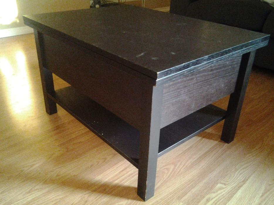 Coffee table with storage victoria city victoria mobile for Coffee tables london ontario