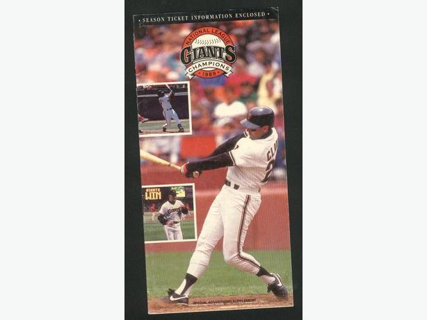 San Francisco Giants 1990 Schedule