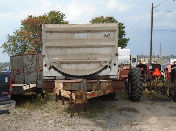 aluminum dump box