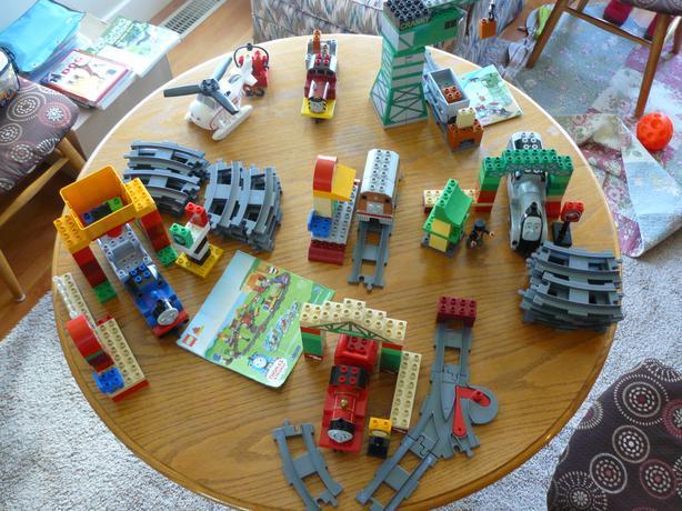Huge Lot of Thomas Tank Engine Lego Duplo Train sets Saanich, Victoria