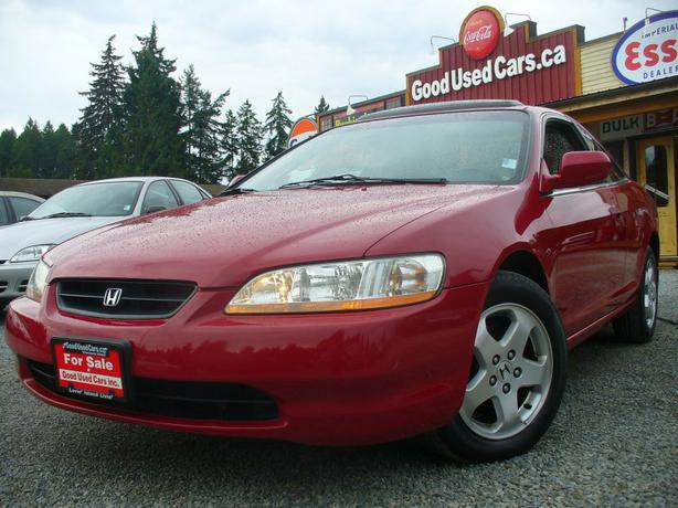 1999 honda accord ex l 6 cyl coupe amazing condition malahat including shawnigan lake mill. Black Bedroom Furniture Sets. Home Design Ideas