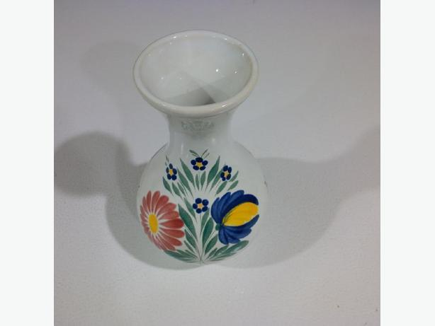 Handmade ceramic vase from Brittany, France