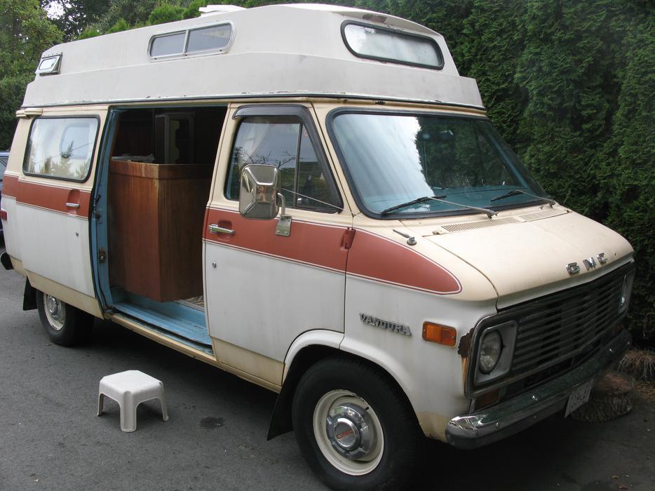 1975 Gmc Camper Van Reduced Price Obo Saanich Victoria