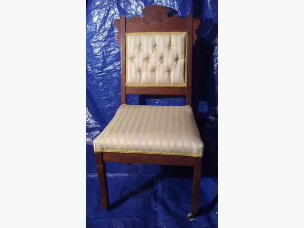 Small Upholstered Dining Chair Asian Style Vancouver City Vancouver