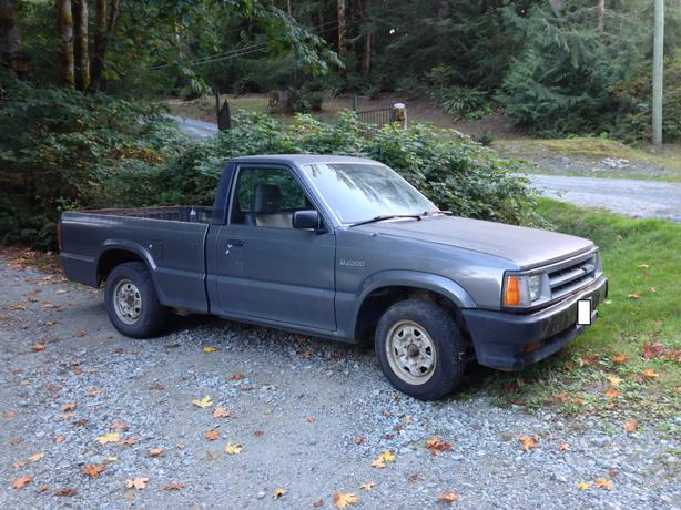 1992 mazda pick up malahat including shawnigan lake mill bay victoria. Black Bedroom Furniture Sets. Home Design Ideas