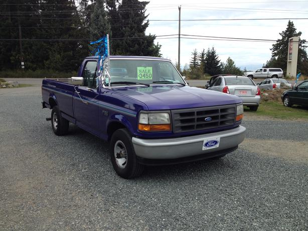 1995 ford f 150 2wd striaght 6 reg cab long box outside cowichan valley cowichan mobile. Black Bedroom Furniture Sets. Home Design Ideas