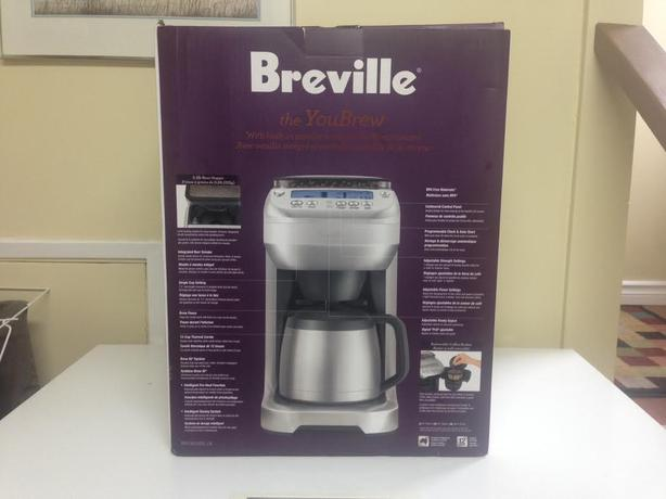 Breville Coffee Maker Gold Filter : Breville 12 cup Coffeemaker with Grinder *NEW w/box* Saanich, Victoria
