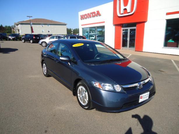 08 39 honda civic hybrid 153k save on fuel extended for Honda civic warranty