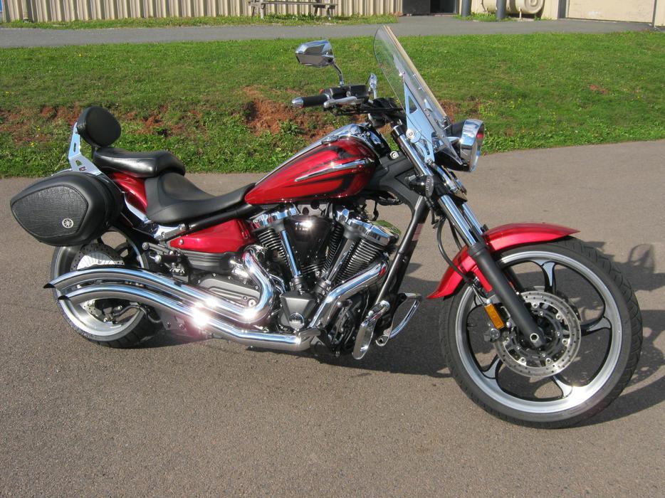 2008 yamaha raider 1854cc call mitch gallant today for Yamaha raider hard saddlebags